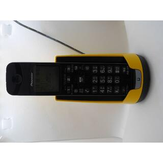 パイオニア(Pioneer)のパイオニア TF-FD15S デジタルコードレス電話機 イエロー TF-FD15(その他)