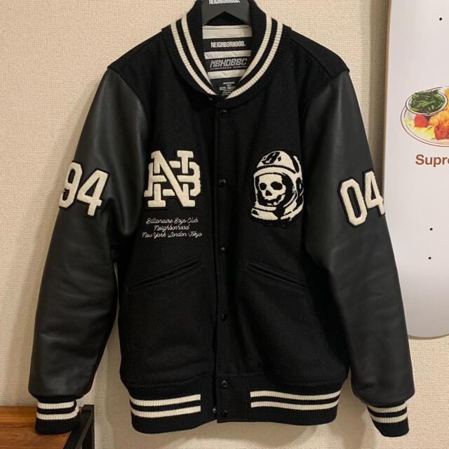 NEIGHBORHOOD(ネイバーフッド)の【期間限定割引】neighborhood BBC スタジャン PARCO渋谷限定 メンズのジャケット/アウター(スタジャン)の商品写真