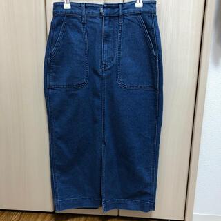 リー(Lee)の【新品未使用】LEE デニムタイトスカート(ロングスカート)
