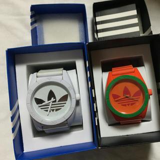 アディダス(adidas)のAdidas ホワイト 時計(腕時計(アナログ))