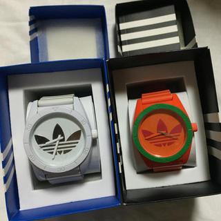 アディダス(adidas)のAdidas 時計 オレンジ(腕時計(アナログ))