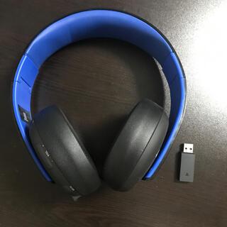 プレイステーション(PlayStation)のPlayStation ワイヤレスサラウンドヘッドセット(ヘッドフォン/イヤフォン)