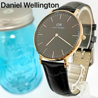 ダニエルウェリントン(Daniel Wellington)の143 ダニエルウェリントン時計  新品電池 36mm ブラック(腕時計)