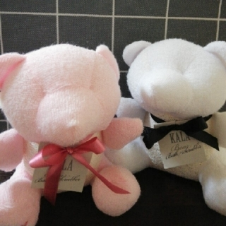 Francfranc - カーラ ベアバススクラバー ピンク ホワイト セット