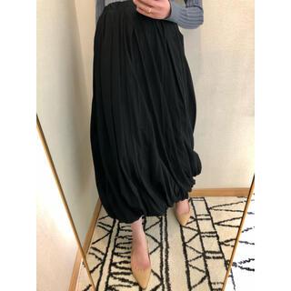 ENFOLD - enfold バルーンスカート ブラック