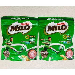 ネスレ(Nestle)のネスレ ミロ オリジナル 240g 2袋セット(その他)
