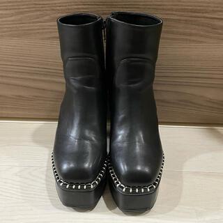 ENVYM - ENVYM ショートブーツ ブラック 24.5cm