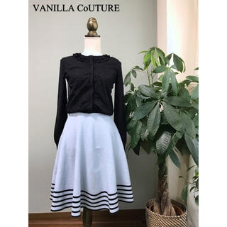 DOUBLE STANDARD CLOTHING - ヴァニラクチュール ダル糸ドットレースカーディガン ダブルスタンダード