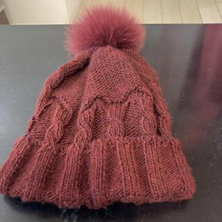 ミサハラダ(misaharada)のニット帽 レディース(ニット帽/ビーニー)
