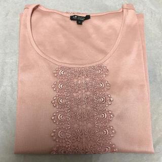 ニジュウサンク(23区)の23区  半袖カットソー サイズ38 Tシャツ 未使用(カットソー(半袖/袖なし))