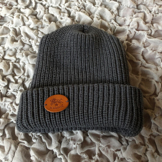 IL BISONTE - IL BISONTE イルビゾンテ ニット帽 グレー