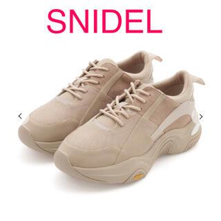 snidel - snidel Vibramソールスニーカー