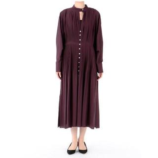 LE CIEL BLEU - ルシェルブルー グラデーションプリーツドレス  36