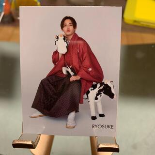ヘイセイジャンプ(Hey! Say! JUMP)の山田涼介さん【ちっこいMyojo4月号・厚紙生カード】(アイドルグッズ)
