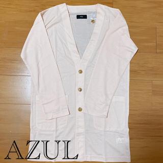 アズールバイマウジー(AZUL by moussy)のmen's  【AZUL】サーフニットカーディガン(カーディガン)