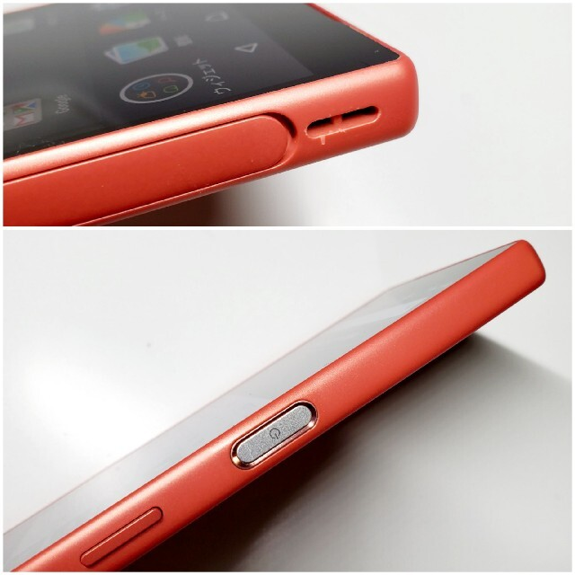 Xperia(エクスペリア)のro527 美品!SIMフリー Xperia  Z5Compact SO-02H スマホ/家電/カメラのスマートフォン/携帯電話(スマートフォン本体)の商品写真