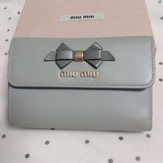miumiu - ミュウミュウ リボン財布