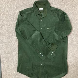 ラコステ(LACOSTE)のシャツ グリーン 緑(シャツ)