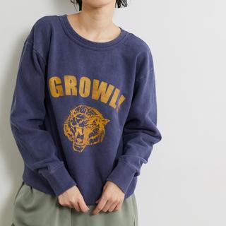Spick and Span - 【mixta】GROWL!スウェット ネイビー S