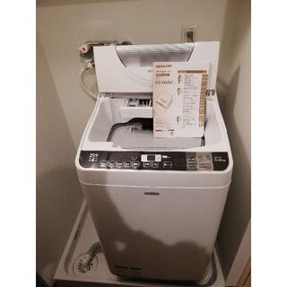 SHARP - SHARP縦型洗濯機ES-TX5SC