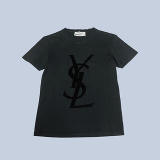 サンローラン(Saint Laurent)のYSL SAINT LAURENT サンローラン ロゴ トップス Tシャツ(Tシャツ(半袖/袖なし))
