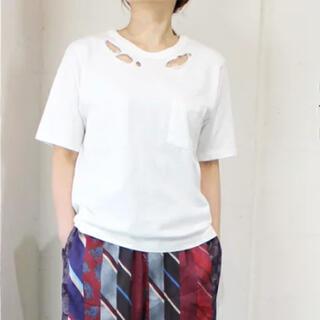ゴートゥーハリウッド(GO TO HOLLYWOOD)の天竺 オンボロTEE   ホワイト 03(Tシャツ(半袖/袖なし))