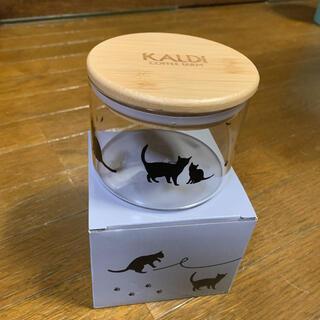 カルディ(KALDI)のカルディ ネコの日 キャニスター(収納/キッチン雑貨)