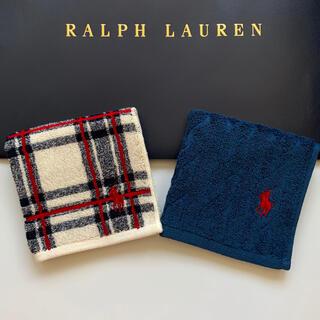 Ralph Lauren - 新品◆Ralph Lauren ラルフ ポロ◆ミニハンカチタオル2枚セット