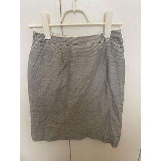 ナチュラルビューティーベーシック(NATURAL BEAUTY BASIC)のナチュラルビューティーベーシック*ボーダー スカート Sサイズ(ひざ丈スカート)