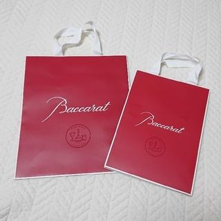 バカラ(Baccarat)の REYONA様 専用 バカラ baccarat 紙袋 ショッパー(ラッピング/包装)