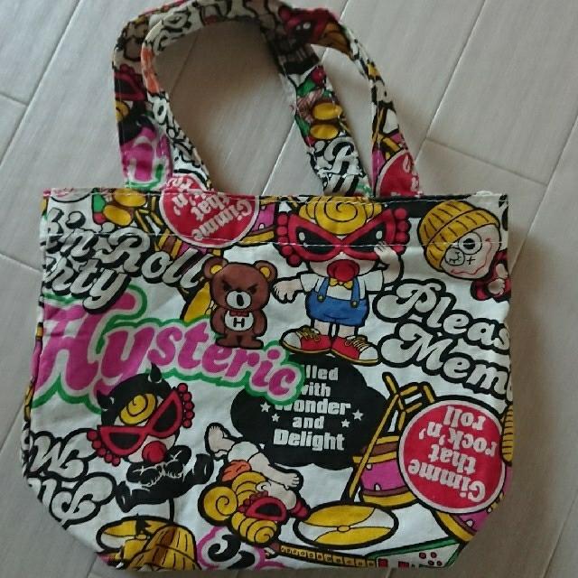 HYSTERIC MINI(ヒステリックミニ)のミニトートバッグ レディースのバッグ(トートバッグ)の商品写真