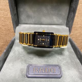 ラドー(RADO)の【完品】RADO ラドー腕時計 購入証明説明書箱付き(腕時計(アナログ))