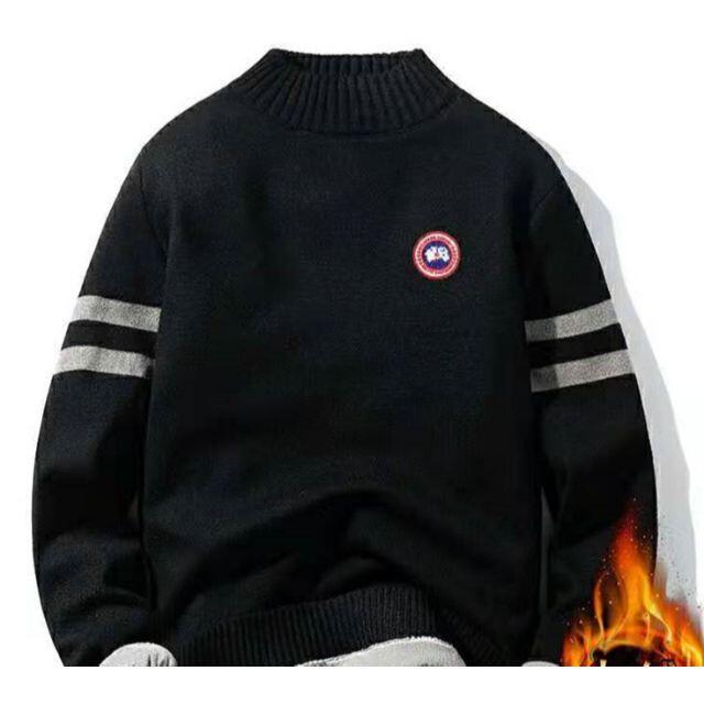 CANADA GOOSE(カナダグース)の大人気 カナダグース 長袖セーター   メンズのトップス(ニット/セーター)の商品写真