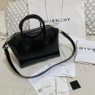 ジバンシィ(GIVENCHY)のジバンシー アンティゴナ 2way スモール ブラック(ハンドバッグ)