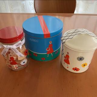 タカシマヤ(髙島屋)のオードリー ストロベリーショコラ キャニスターポット(菓子/デザート)