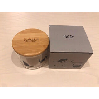 カルディ(KALDI)のカルディ ネコの日 キャニスター(キッチン小物)