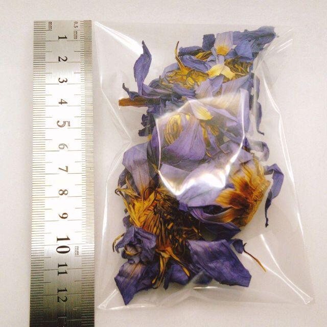 オーガニック ブルーロータス 10g カンナパウダー 5g ハンドメイドのフラワー/ガーデン(ドライフラワー)の商品写真