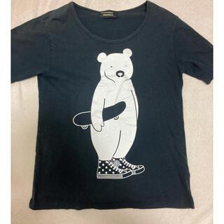 フラボア(FRAPBOIS)のフラボア コンバース コラボ Tシャツ サイズ2 メンズ レディース(Tシャツ(半袖/袖なし))