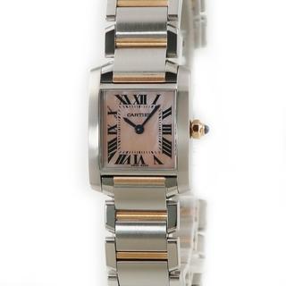 Cartier - カルティエ  タンクフランセーズ SM W51027Q4 クオーツ レデ