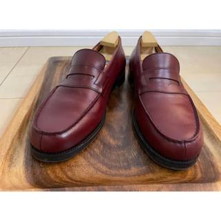 ジェーエムウエストン(J.M. WESTON)のJ.M.WESTON シグニチャーローファー 180 4.5D バーガンディ(ローファー/革靴)