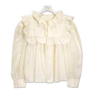 Lochie - 【予約販売】フリル襟ブラウス イエロー miro amurette同型