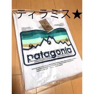 patagonia - 新品 patagonia パタゴニア 長袖ロンT ホワイト L