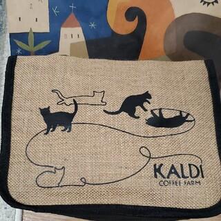 カルディ(KALDI)のカルディ KALDY ネコの日バッグ抜き取りナシ新品(ノベルティグッズ)