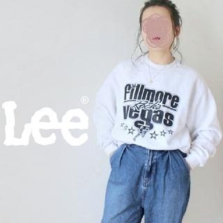 リー(Lee)の【激レア!】90s・メキシコ製 Lee チアリーダー♡ BIGロゴ スウェット(トレーナー/スウェット)