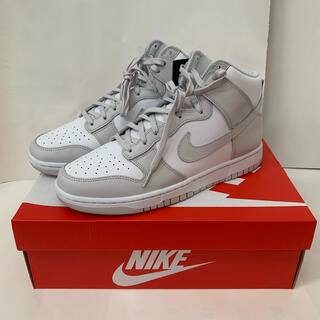 ナイキ(NIKE)の【 28.0cm 】 NIKE DUNK HI RETRO VAST GREY(スニーカー)
