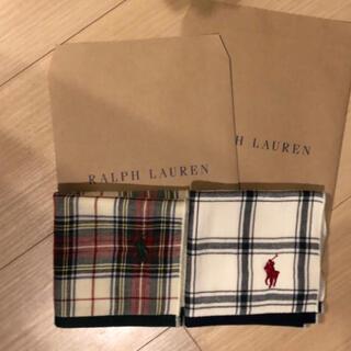 POLO RALPH LAUREN - ラルフローレンタオルハンカチ