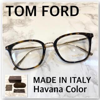 TOM FORD - 【新品】トムフォード メガネ フレーム ハバナカラー イタリア製 正規品