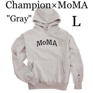 Champion - [NY正規] Champion MoMA チャンピオン モマ パーカー Lサイズ
