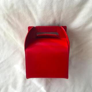 ISSEY MIYAKE - イッセイミヤケ ケーキボックス型 バッグ