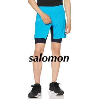 サロモン(SALOMON)の新品 サロモン ショートパンツ AGILE TWINSKIN SHOR 最終価格(その他)